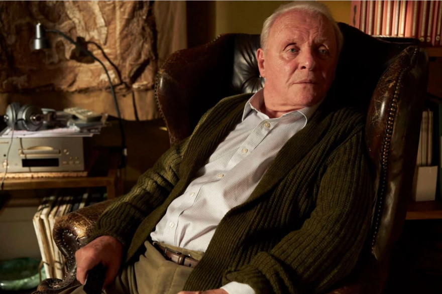 "Anthony Hopkins dans ""The Father"""