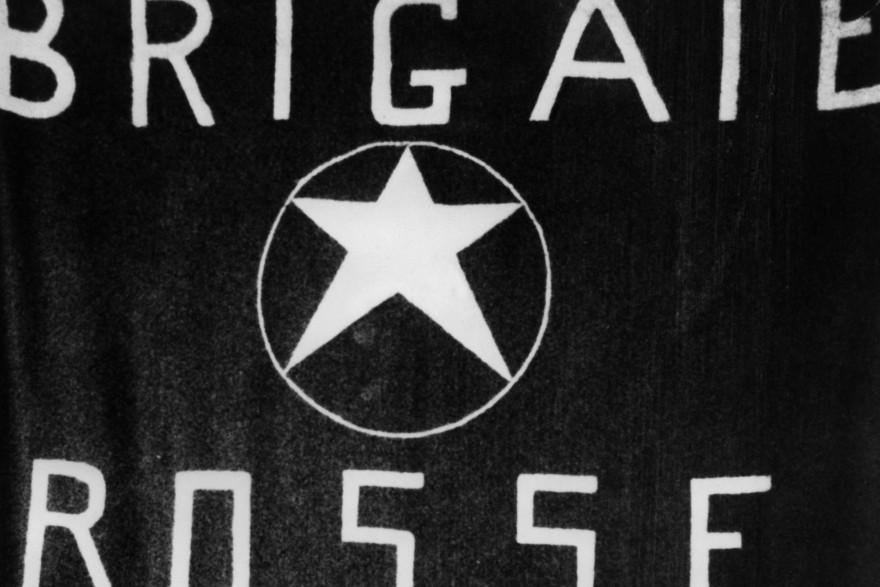 Un drapeau des Brigades rouges