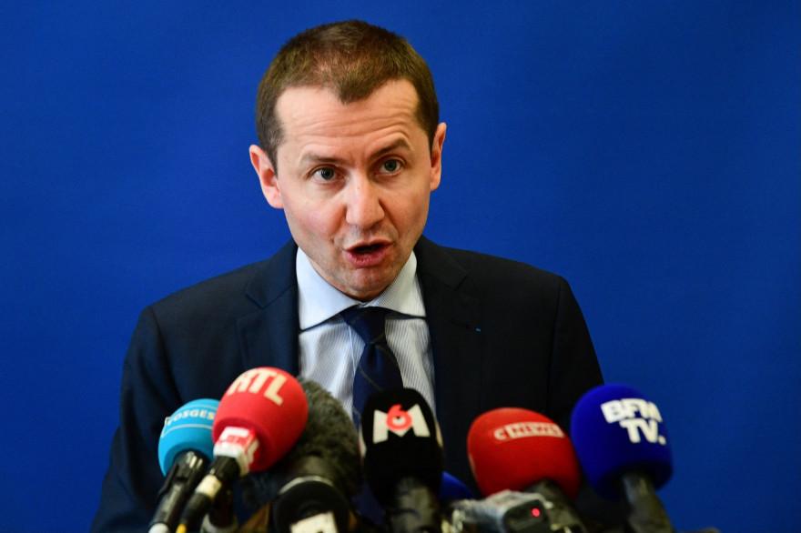 Le procureur de la République d'Épinal Nicolas Heitz