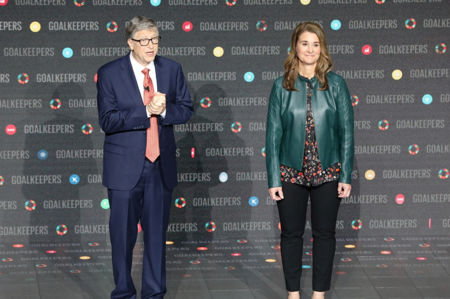 Bill et Melinda Gates, le 26 septembre 2018 à New York