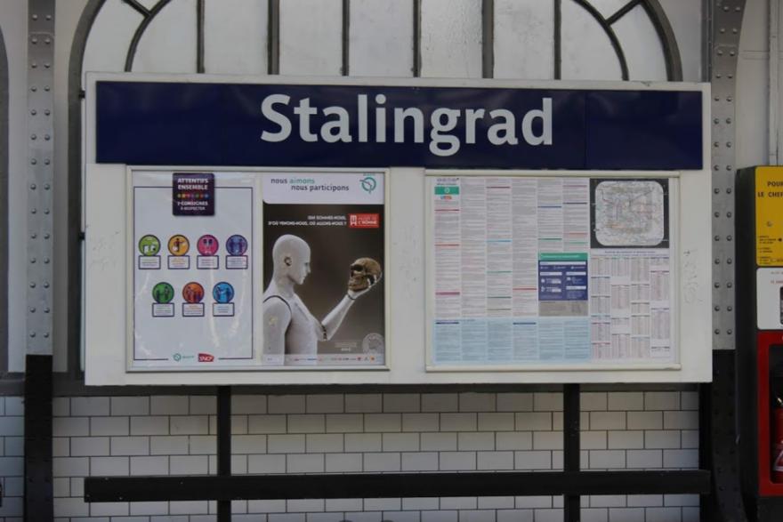 Métro Stalingrad à Paris