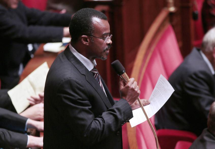Le président de la région Guadeloupe, étiqueté La République en Marche, Ary Chalus.