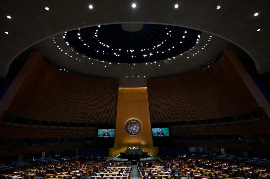 Photo de l'Assemblée générale des Nations Unies le 30 septembre 2019 au Siège des Nations Unies à New York. (Illustration)