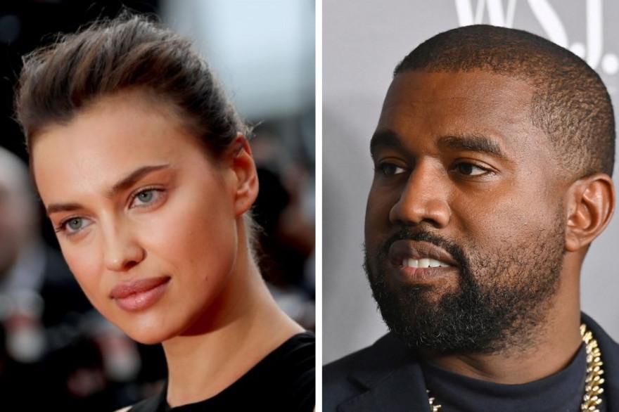 Irina Shayk et Kanye West ont passé un week-end prolongé en France pour les 44 ans du chanteur