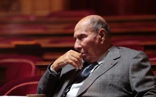 Serge Dassault au Sénat, le 20 décembre 2012.