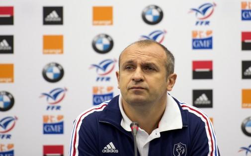 Philippe Saint-André, le sélectionneur du XV de France (archives)
