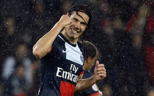 Edinson Cavani a pris la tête du classement des buteurs grâce à son doublé inscrit face à Lorient vendredi.