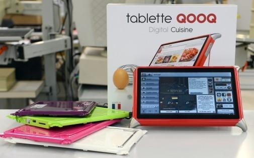 """La tablette culinaire """"Qooq"""" figure dans la liste des produits indispensables de l'année 2013 dressée par Oprah Winfrey."""