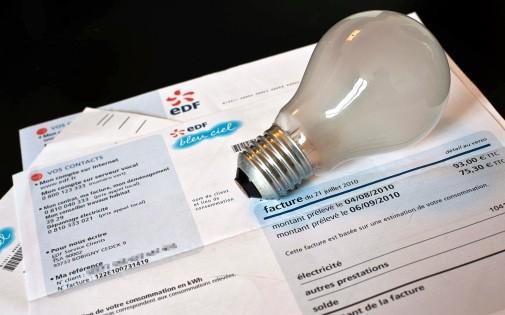Une facture d'électricité (photo d'illustration).