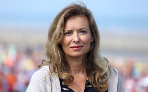 Valérie Trierweiler, à Cabourg, le 28 août 2013. (archives)