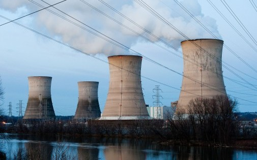 La centrale nucléaire de Three Mile Island en Pennsylvanie, le 28 mars 2011 (illustration)