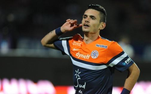 Rémy Cabella sous les couleurs de Montpellier