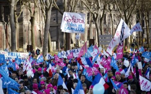 La Manif pour tous à Versailles le 15 décembre 2013