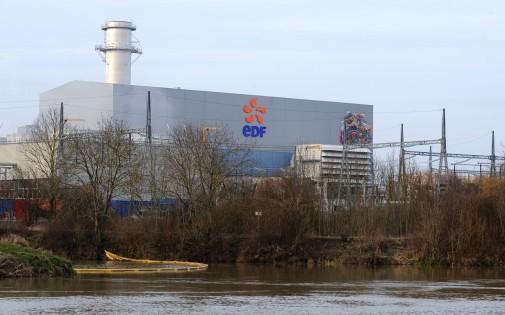 Une centrale d'EDF le 21 mars 2013 (photo d'illustration).